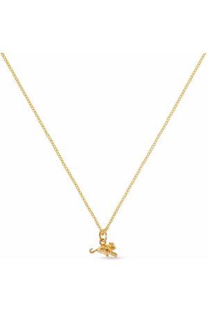 PATCHARAVIPA 18kt yellow Tiny Monkey necklace