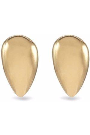 JACQUELINE RABUN 18kt yellow Black Love stud earrings