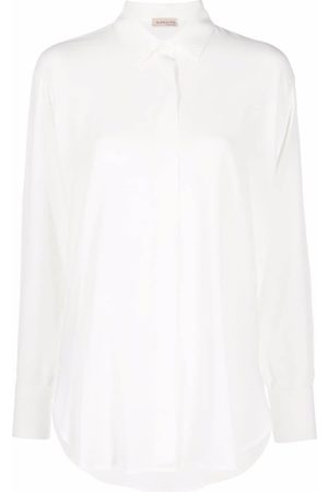 BLANCA Women Tops - Concealed-front shirt