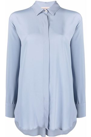 BLANCA Concealed-front shirt