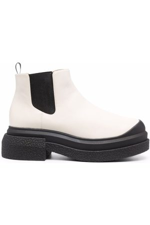 Stuart Weitzman Women Ankle Boots - Two-tone ankle boots