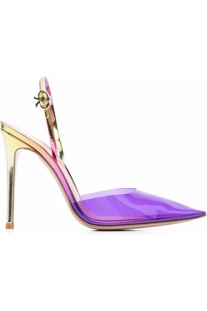 Gianvito Rossi Ribbon D-Orsay pointed pumps