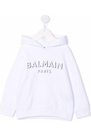 Balmain Logo pullover hoodie