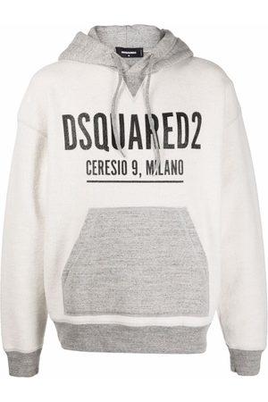 Dsquared2 Men Sweatshirts - Logo-print hoodie