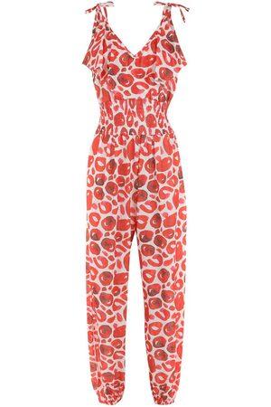 Brigitte Anne abstract-print jumpsuit