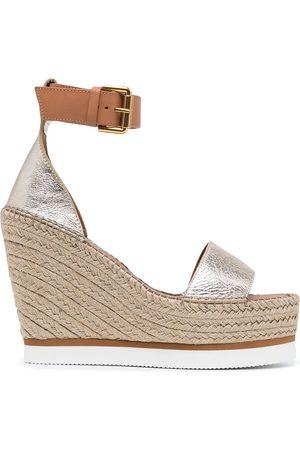 See by Chloé Splash wedge espradille sandals