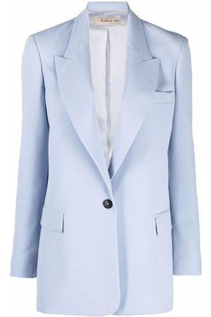 BLANCA Single-breasted tailored blazer