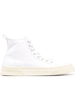 Ami Tonal-stitching high-top sneakers