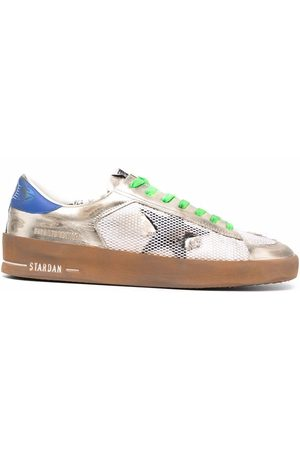 Golden Goose Logo-patch trainers