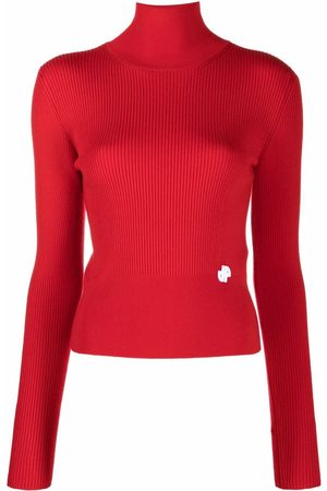 Patou Ribbed knit roll-neck jumper