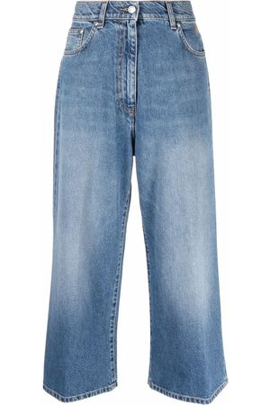 Msgm High-rise cropped jeans