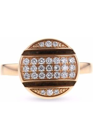 CHAUMET 2010s 18kt rose gold Class One diamond ring
