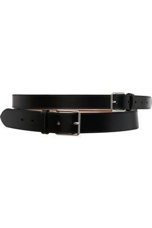 Alexander McQueen Double buckle belt