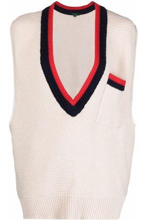 JEJIA V-neck knitted top