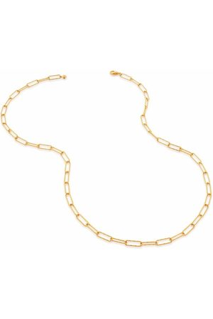 Monica Vinader Alta textured chain necklace
