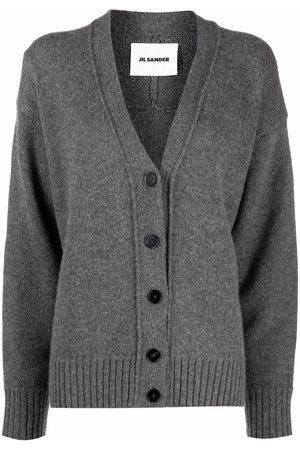 Jil Sander V-neck knitted cardigan