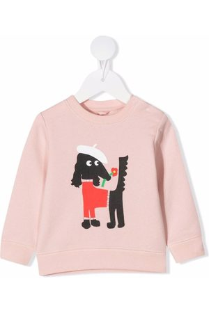 Stella McCartney Baby Sweatshirts - Sissy Dog print sweatshirt