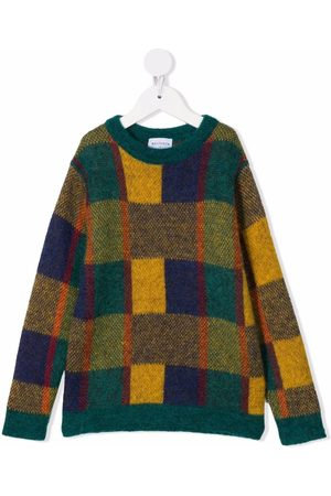 Wolf & Rita Boys Jumpers - Colour-block knitted jumper