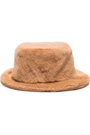 Ruslan Baginskiy Women Hats - Faux Fur Bucket Hat