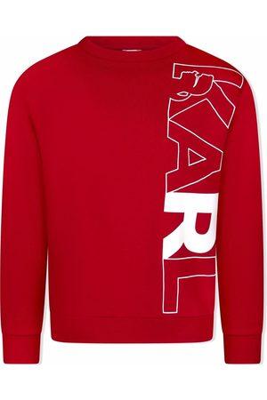 Karl Lagerfeld Karl-print cotton-blend sweatshirt