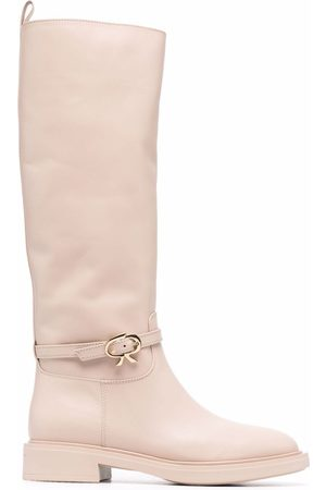Gianvito Rossi Knee-lengh leather boots