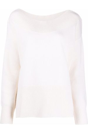 P.a.r.o.s.h. Liked boat neck jumper
