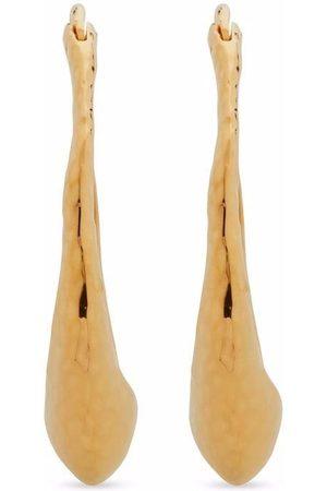 Monica Vinader Deia hoop earrings