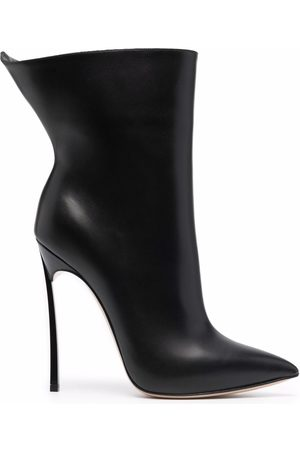 Casadei Women Ankle Boots - Blade leather ankle boots