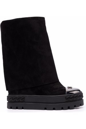 Casadei Women Boots - Suede leather boots
