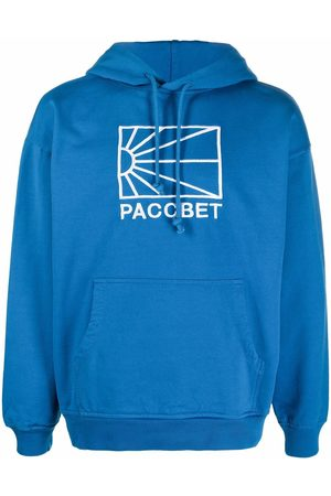 PACCBET Logo-embroidered hoodie