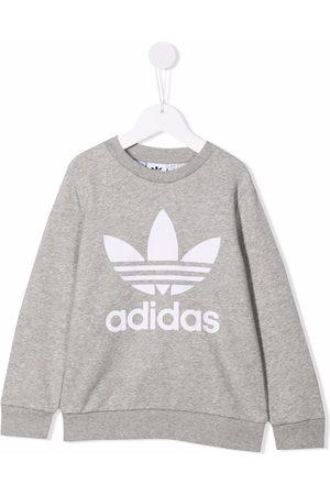adidas Kids Logo print sweatshirt