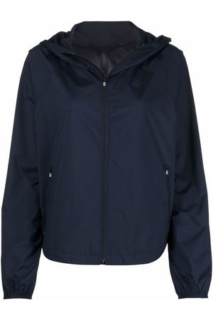 Kenzo Tiger-patch hooded jacket
