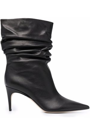 Sergio Rossi Cindy ruched ankle boots