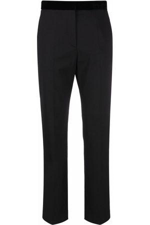 Sandro Paris Women Formal Pants - Pressed-crease tailored trousers