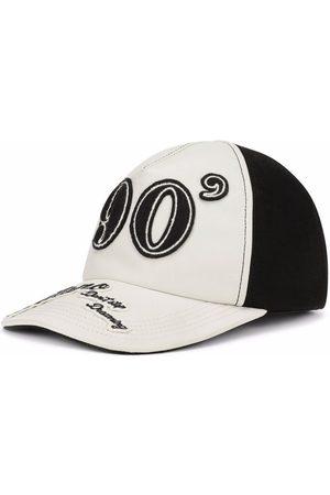 Dolce & Gabbana 90's logo patch baseball cap