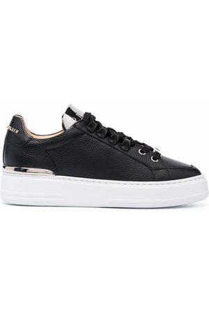 Philipp Plein Leather Lo-Top Sneakers Networth