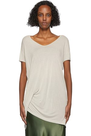 Rick Owens Off-White Hiked T-Shirt