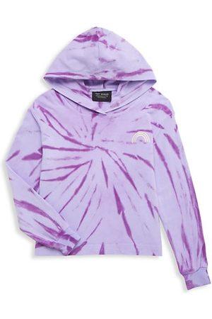 Tiny Whales Girls Sweatshirts - Little Girl's & Girl's Tie-Dye Sweatshirt