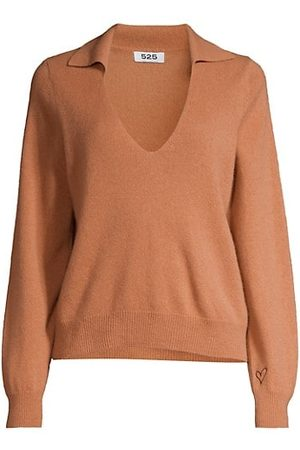 525 America Cashmere Polo Sweater