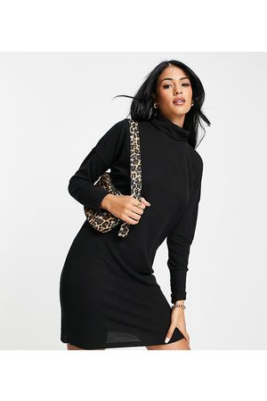 Noisy May Tall Mini jumper dress with roll neck in