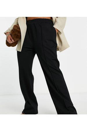 Only Curve Wide leg clean trousers in