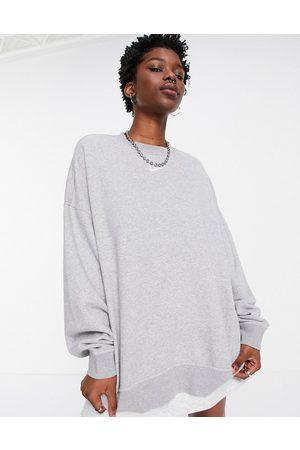 Nike Women Sweatshirts - Mini swoosh longline sweatshirt in