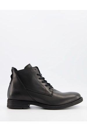Replay Leather lace up boots