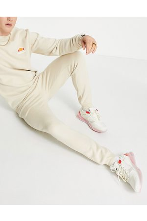 Ellesse Ovest joggers in oatmeal-Neutral