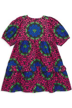 Elisamama Little Girl's & Girl's Abi Geometric-Print Dress