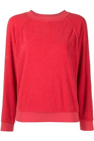 Suzie Kondi Women Sweatshirts - Velour Raglan sweatshirt
