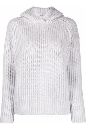 FEDELI Women Long Sleeve - Rib-knit long-sleeve jumper