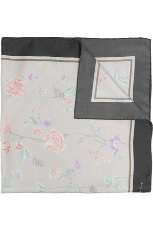 SHANGHAI TANG Women Scarves - X Yuni Ahn silk floral-print foulard