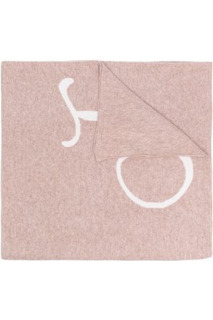 DEE OCLEPPO Women Scarves - Letter j cashmere scarf