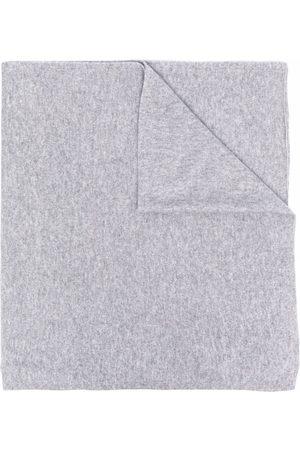 DEE OCLEPPO Logo-letter cashmere knit scarf
